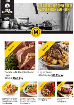 Grocery & Liquor offers in the Mad Butcher catalogue in Mount Maunganui