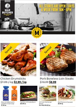 Grocery & Liquor offers in the Mad Butcher catalogue in Paraparaumu