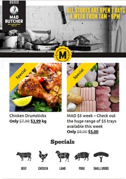 Offers from Mad Butcher in the Auckland special