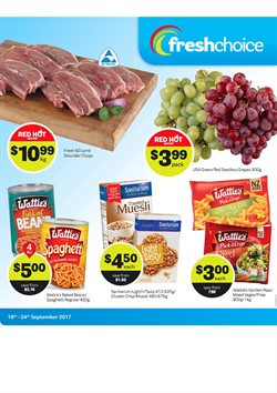 Offers from Fresh Choice in the Christchurch special