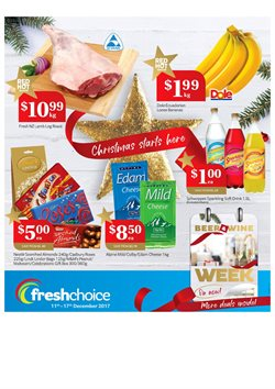 Grocery & Liquor offers in the Fresh Choice catalogue in Carterton