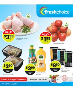 Grocery & Liquor offers in the Fresh Choice catalogue in Rolleston