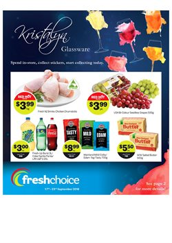 Offers from Fresh Choice in the Auckland special
