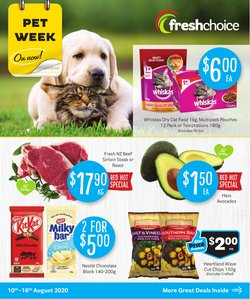 Supermarkets offers in the Fresh Choice catalogue in Cromwell ( 2 days ago )