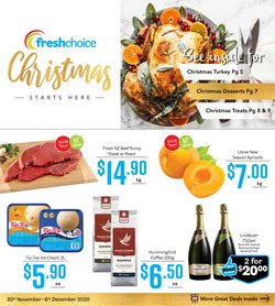Christmas offers in the Fresh Choice catalogue ( 3 days left)