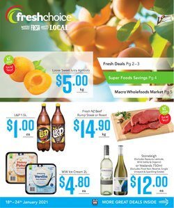 Fresh Choice catalogue ( Expires tomorrow )