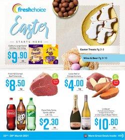 Fresh Choice catalogue in Dunedin ( Expired )