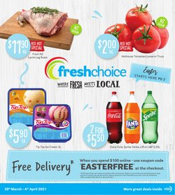 Fresh Choice catalogue in Auckland ( Expired )