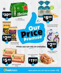 Fresh Choice catalogue in Auckland ( 10 days left )