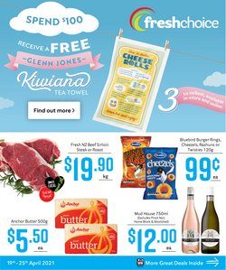Fresh Choice catalogue in Auckland ( 3 days left )