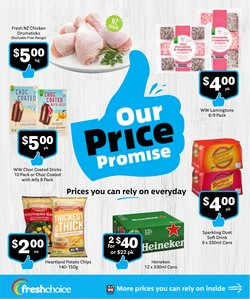 Supermarkets offers in the Fresh Choice catalogue ( 5 days left)