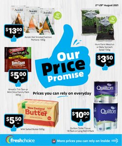 Supermarkets offers in the Fresh Choice catalogue ( 26 days left)