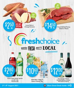 Supermarkets offers in the Fresh Choice catalogue ( 3 days left)