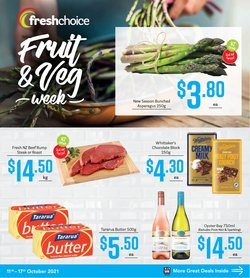 Supermarkets offers in the Fresh Choice catalogue ( Expires tomorrow)