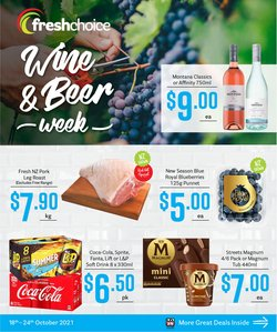 Supermarkets offers in the Fresh Choice catalogue ( 2 days left)