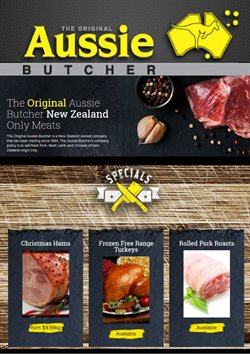 Offers from Aussie Butcher in the Kumeu special