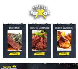 Aussie Butcher offers in the Aussie Butcher catalogue ( 9 days left)