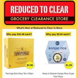 Reduced To Clear catalogue in Palmerston North ( Expires today )