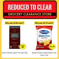 Reduced To Clear catalogue ( Expires today )