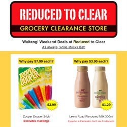 Reduced To Clear catalogue ( Expired )