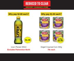 Reduced To Clear offers in the Reduced To Clear catalogue ( 6 days left)