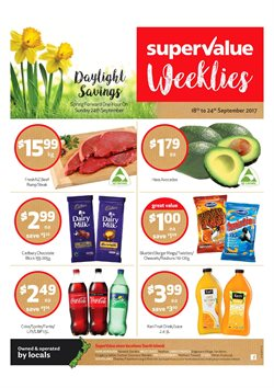 Grocery & Liquor offers in the SuperValue catalogue in Hamilton