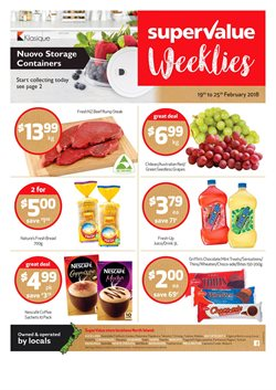 Grocery & Liquor offers in the SuperValue catalogue in Auckland