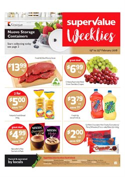 Grocery & Liquor offers in the SuperValue catalogue in Rolleston