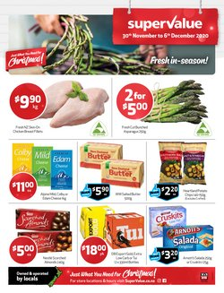 Christmas offers in the SuperValue catalogue ( 3 days left)