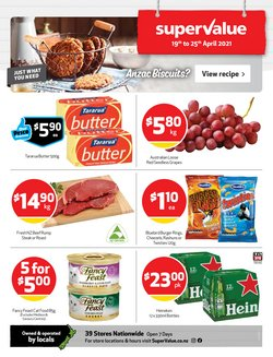 SuperValue catalogue ( 2 days ago )