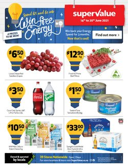 Supermarkets offers in the SuperValue catalogue ( 3 days left)