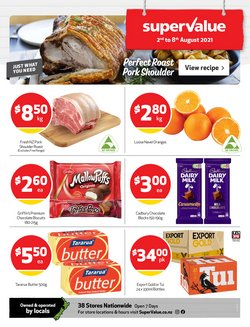 SuperValue offers in the SuperValue catalogue ( 3 days left)