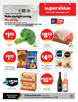Supermarkets offers in the SuperValue catalogue ( 1 day ago)