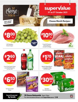 SuperValue offers in the SuperValue catalogue ( Expires tomorrow)