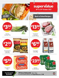 Supermarkets offers in the SuperValue catalogue ( 2 days left)
