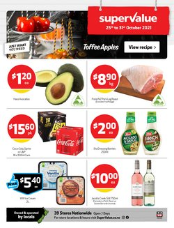 Supermarkets offers in the SuperValue catalogue ( Published today)