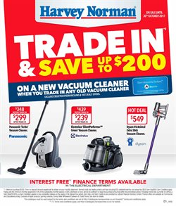Offers from Harvey Norman in the Wellington special