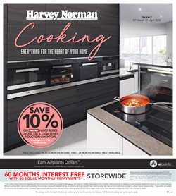 Offers from Harvey Norman in the St Lukes special