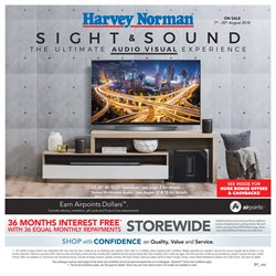 Electronics & Appliances offers in the Harvey Norman catalogue in Auckland