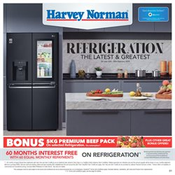 Offers from Harvey Norman in the Christchurch special