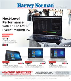 Offers from Harvey Norman in the Hamilton special