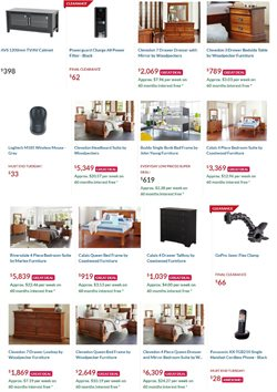 Homeware & Furniture offers in the Harvey Norman catalogue ( 13 days left )
