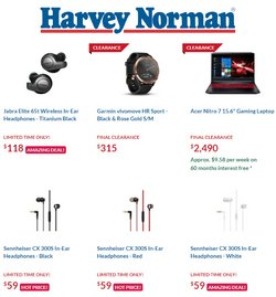 Harvey Norman catalogue ( 6 days left )
