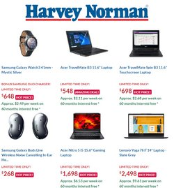 Electronics & Appliances offers in the Harvey Norman catalogue ( 6 days left )