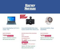 Harvey Norman catalogue ( 1 day ago )