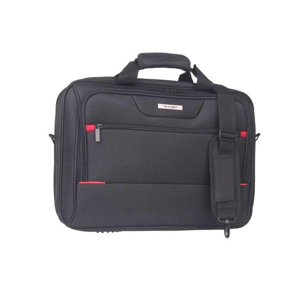 Flight Laptop Business Bag Black 44cm offer at $99.99