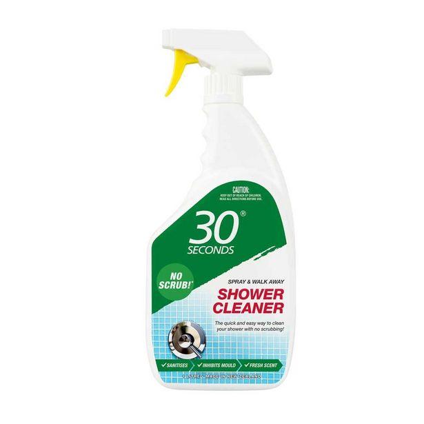 Spray & Walk Away 30 Seconds Shower Cleaner 1 Litre offer at $9.99