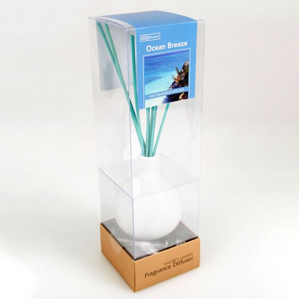 Ocean Diffuser Set With 70ml Oil & Colour Reeds offer at $9.99