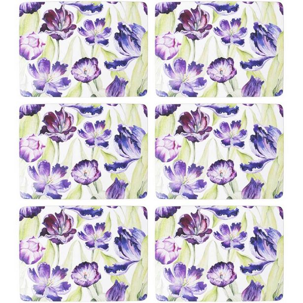 Just Home Watercolour Placemat Set 6 offer at $49.99