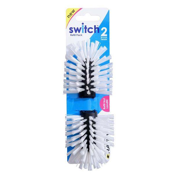 Raven Brush Head Switch 2 Pack Black offer at $5.49